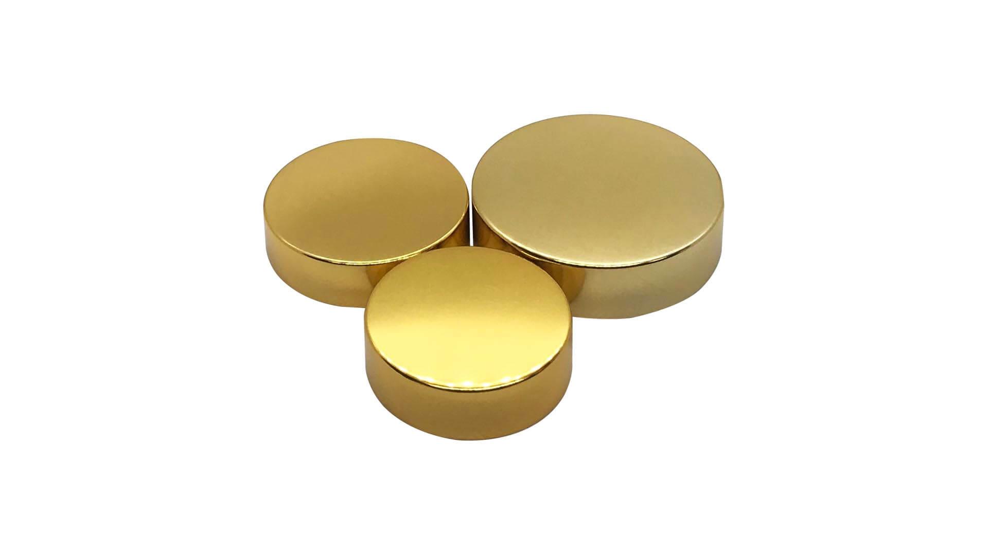 金銀蓋 (含墊片)Gold Lid With PE Sheet